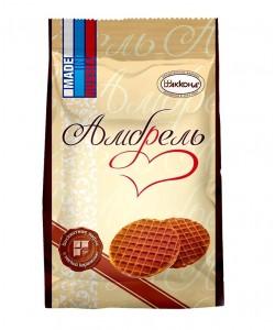 """""""Амбрель"""" 250 г вафли бисквитные с мягкой карамелью"""