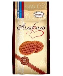 """""""Амбрель"""" 500 г вафли бисквитные с мягкой карамелью"""